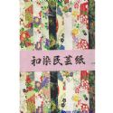 Wazome unryu washi large, 10 by 15 inch (25 by 38 cm), 8 sheets, (b51)